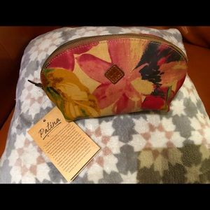 Patricia Nash Spring Multi Print Cosmetics Bag